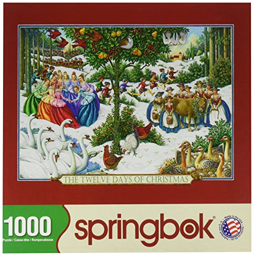 12 Days of Christmas Jigsaw Puzzle- 1000 Collectible Puzzle