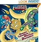 Green Lantern vs. the Meteor Monster!...