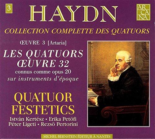 CD : HAYDN / QUATUOR FESTETICS - Collection Complete Des Quatuors 3 (2 Discos)