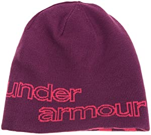 Under Armour Women's UA Reversible Beanie One Size Fits All Gloss