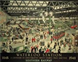 Vintage Train & Rail Poster Waterloo Station Railway VTARP011
