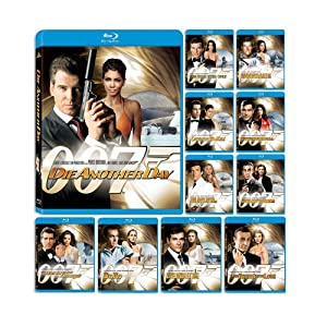 61Se9b33LzL. SL500 AA300  James Bond 11 Movie Ultimate Blu Ray Collection   $99 Shipped