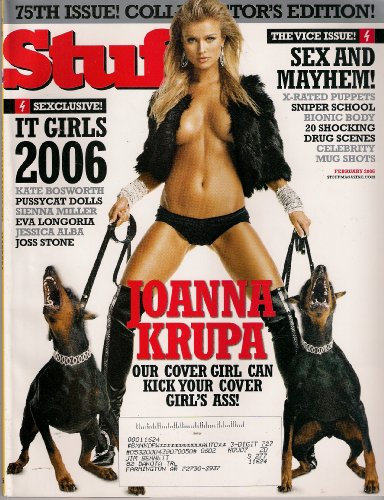 joanna krupa JOANNA KRUPA STUFF FEBRUARY 2006 KATE BOSWORTH JESSICA