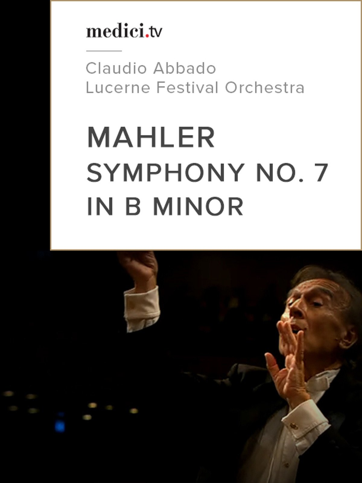"Mahler, Symphony No. 7 in B minor, ""Lied der Nacht"""