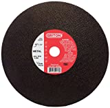 Reviews Griton CAH298 Arbor Industrial Cut Off Wheel for Metal Used on High Speed Saws, 1.0″ Hole Diameter, 12″ Diameter, 1/8″ Width (Pack of 10)