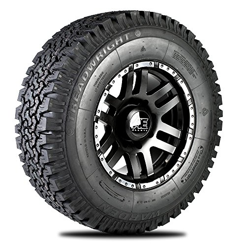 TreadWright WARDEN A/T Tire - LT265/75R16D Remold USA (Bfg At Tires compare prices)