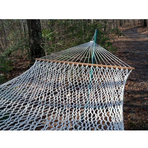 Olefin Rope Hammock Color: Lambswool