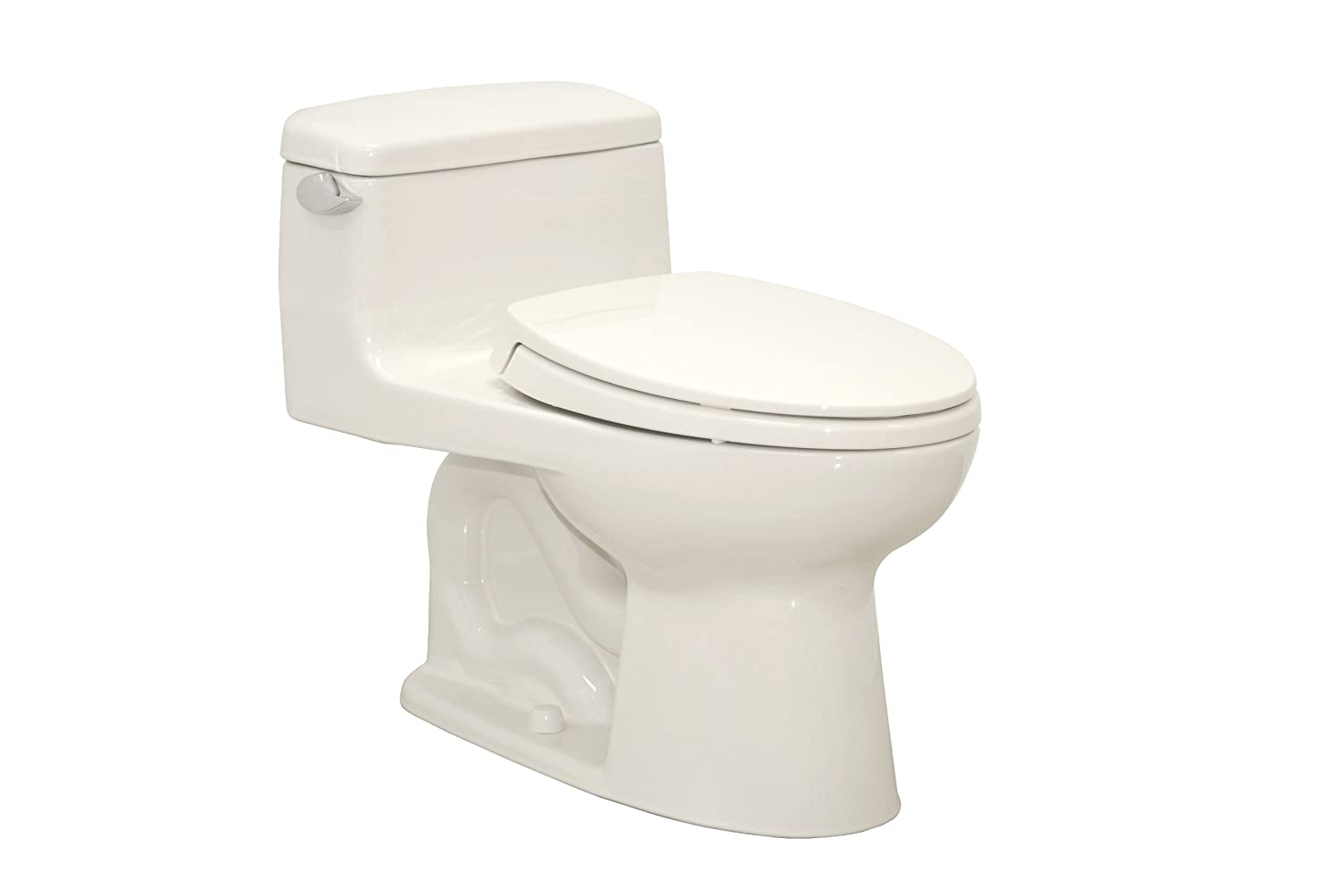 TOTO MS864114#11 Supreme Elongated One Piece Toilet, Colonial White