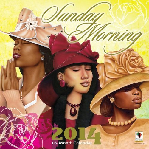 Sunday Morning 16-Month Calendar