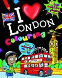 Home Town World I Love London Colouring