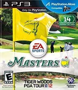 Masters: Tiger Woods PGA Tour 12 - PlayStation 3 Standard Edition