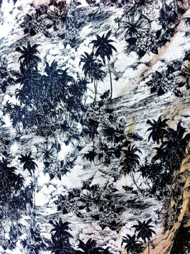 Palm Tree Bedding front-1065860