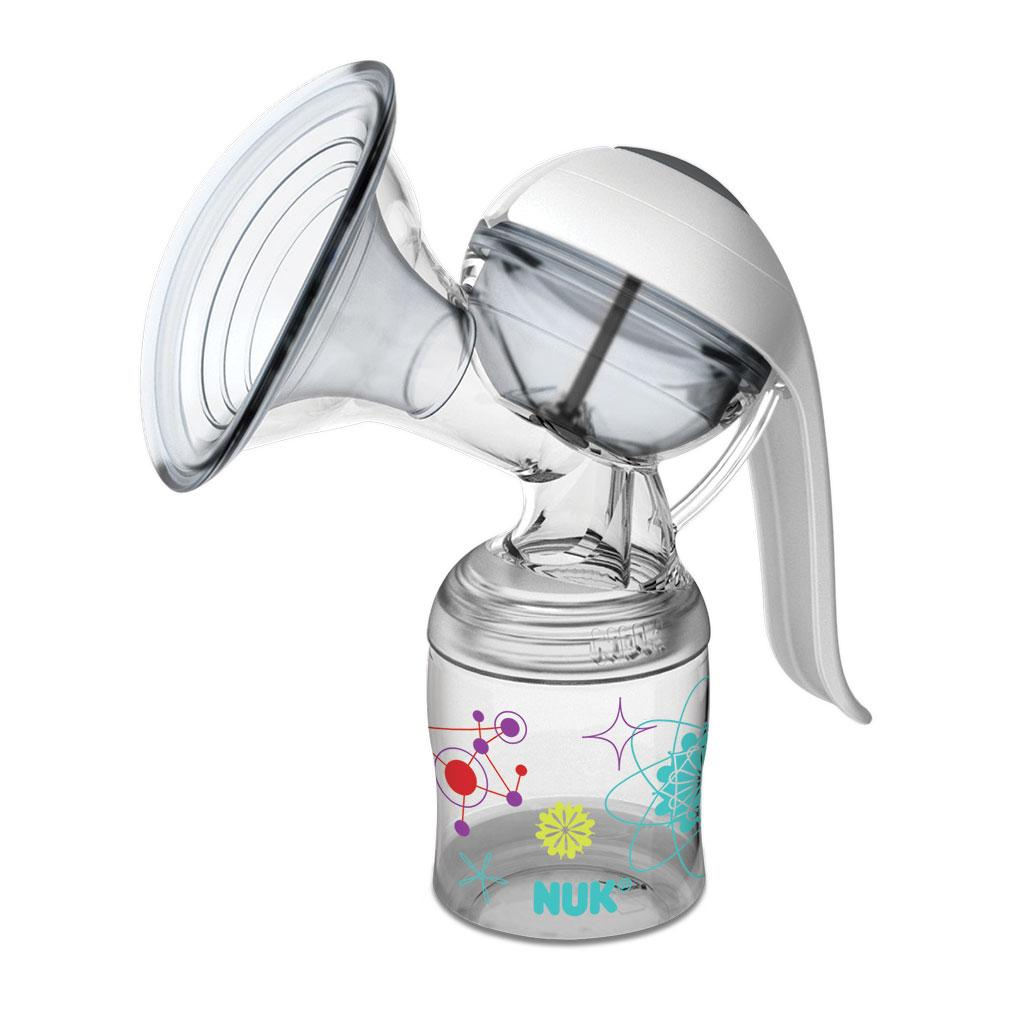 One NUK Expressive Manual Breast Pump 5oz Breast Milk Container with ...