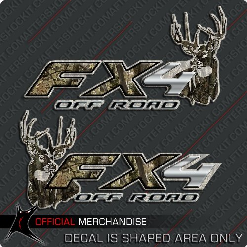 FX4 Truck Deer Hunting Camo Decals Archery F-150 F-250