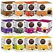 Nescaf� Dolce Gusto Kapseln All-Inclusive Set, Kaffee, Kaffeekapsel, 12 Packungen, 192 Kapseln