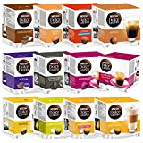 Nescaf� Dolce Gusto Capsules Lot tout compris, 12 Bo�tes, 192 capsules