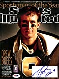 Drew Brees Autographed Sports Illustrated Magazine New Orleans Saints PSA/DNA ITP Stock #105147
