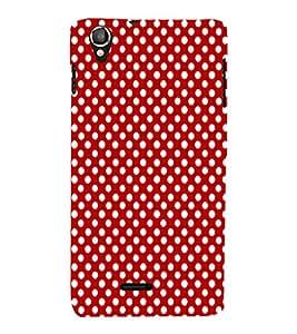 EPICCASE cute dots Mobile Back Case Cover For Lava Iris X800 / Lava Iris X800 (Designer Case)