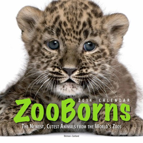 ZooBorns 2014 Wall Calendar