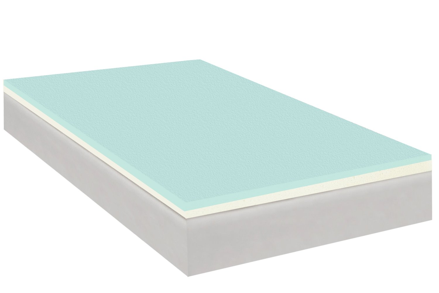 Continental Sleep 2 Inches Gel Infused High Density Foam Mattress Topper Queen Ebay