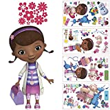 York Wallcoverings RMK2280SCS RoomMates Doc McStuffins Peel & Stick Wall Decals,