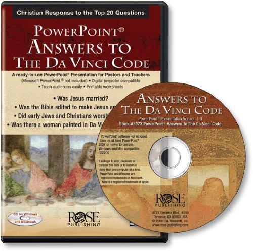 Answers to the Da Vinci Code (PowerPoint), Dr. Timothy Paul Jones