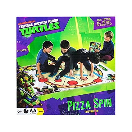 Tortues Ninja – Pizza Spin – Jeu d'Adresse Version Anglaise (Import Royaume-Uni)
