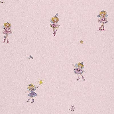 Rasch 144819 Childrens Lillifee Design Wallpaper Pink by Rasch - Tapete