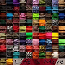 550 Parachute Cord - 100 Colors - 50 or 100 FT - 7 Strand - Type 3 - USA Made - Paracord