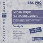 Informatique par les documents Bac Pr...
