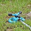 Lawn Sprinkler, KMASHI Garden Sprinkler Three Arm Water Sprinkler