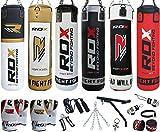 RDX 17PC Leder Boxen MMA Sack 4FT 5FT Boxsack Boxsack