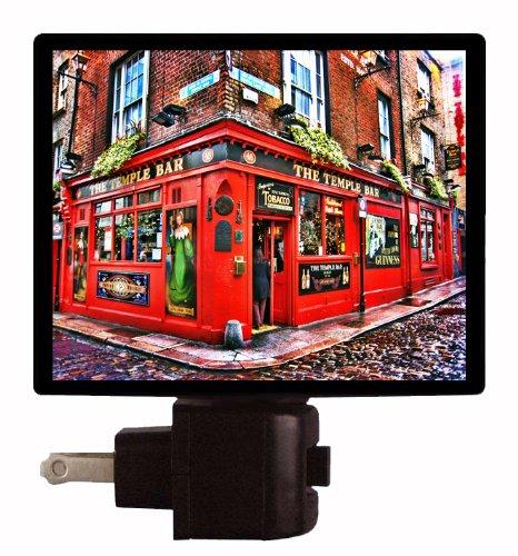 Travel Night Light - The Temple Bar - Dublin, Ireland Led Night Light