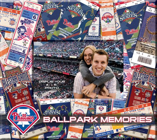 MLB Philadelphia Phillies 8x8 Scrapbook Photo Album at Amazon.com
