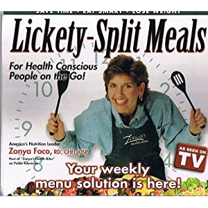 Lickety-Split Meals - For Health Conscious People on the Go!