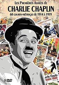 Les Premières Années de CHARLIE CHAPLIN - 60 courts-métrages de 1914 à 1919 Coffret 8 DVD