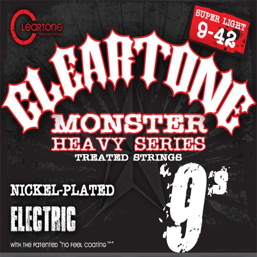 Cleartone Monster Black Series Super Light Electric Guitar Strings