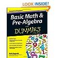 Basic Math & Pre-algebra For Dummies(R)