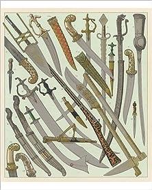 buy Photographic Print Of Swords A Daggers/Racinet
