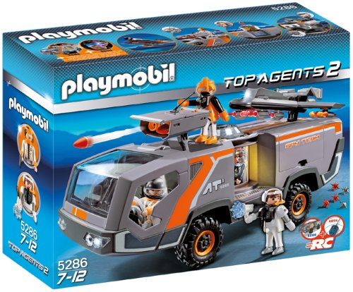 Playmobil Spy Team Command Vehicle, Top Agents 2, 144 Piece front-1055525
