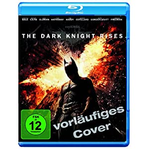 Amazon The Dark Knight Rises Blu-ray und DVD