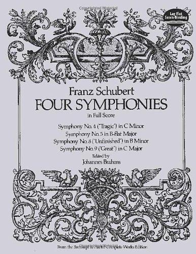 Four Symphonies in Full Score (Dover Music Scores)