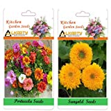 Alkarty Portulaca And Sungold Seeds Pack Of 20 (Summer)