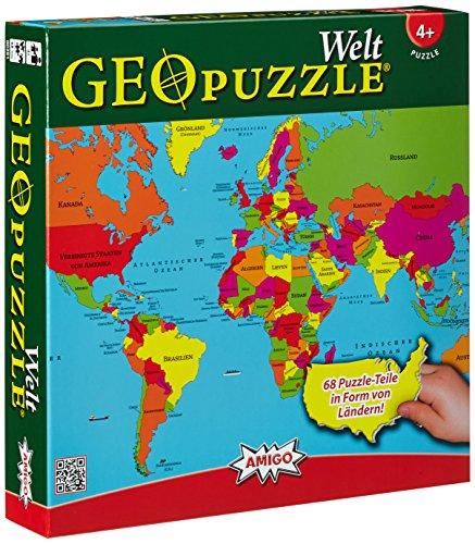Amigo-00381-GeoPuzzle-Welt