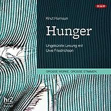 Hunger Hörbuch von Knut Hamsun Gesprochen von: Uwe Friedrichsen