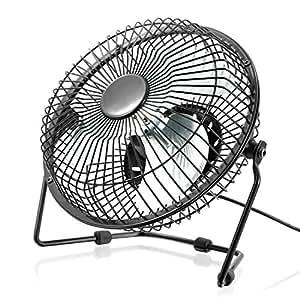 Csl ventilatore usb ventilatore da tavolo ventola alloggiamento pale in metallo pc - Ventilatore da tavolo usb ...