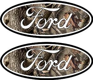 Ford Emblem Decals Stickers 04-11 Ranger F150 F250 F350 4x4 Camo Sd