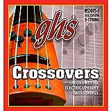 Ghs nS 3075-5 crossovers mod�le basse 5 cordes noir)
