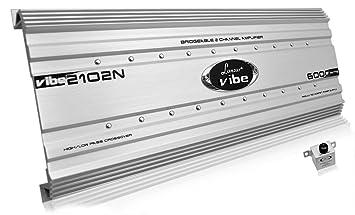 Lanzar VIBE2102N Vibe 6000 W 2 canaux MOSFET Amplificateur Audio de voiture