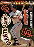 MLB San Francisco Giants Buster Possey Fathead Teammate Wall Decal, 8 x 16-Inch, Red